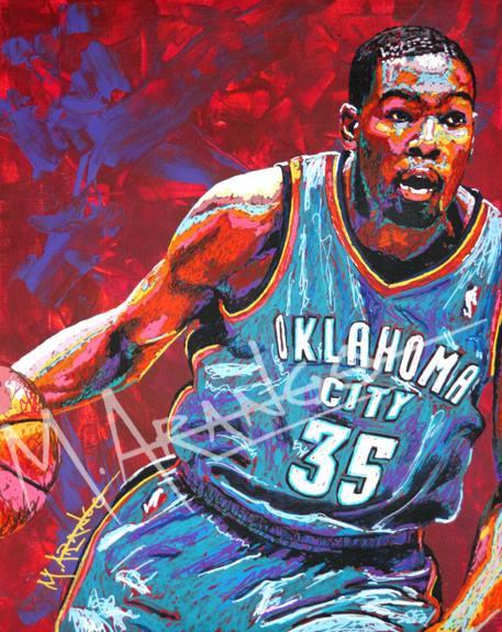 Kevin Durant by MArango